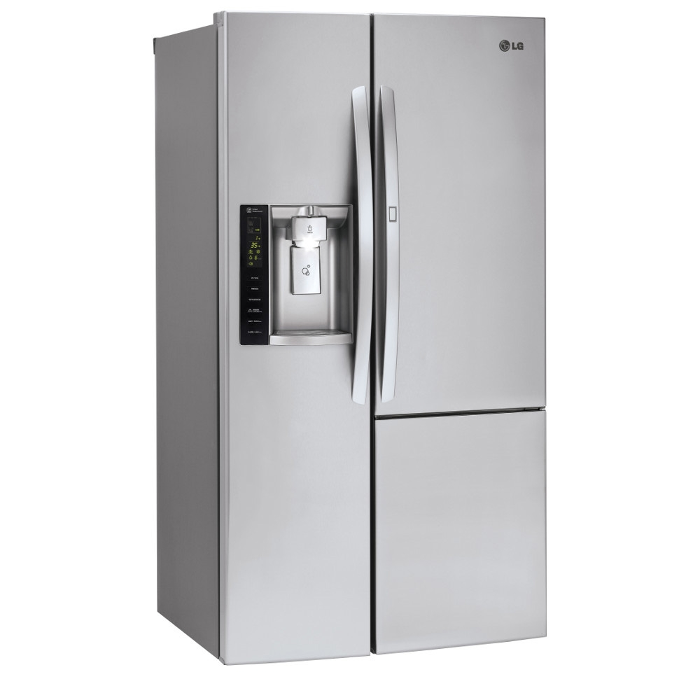 LG Stainless Steel Side-By-Side Refrigerator - LSXS26366S
