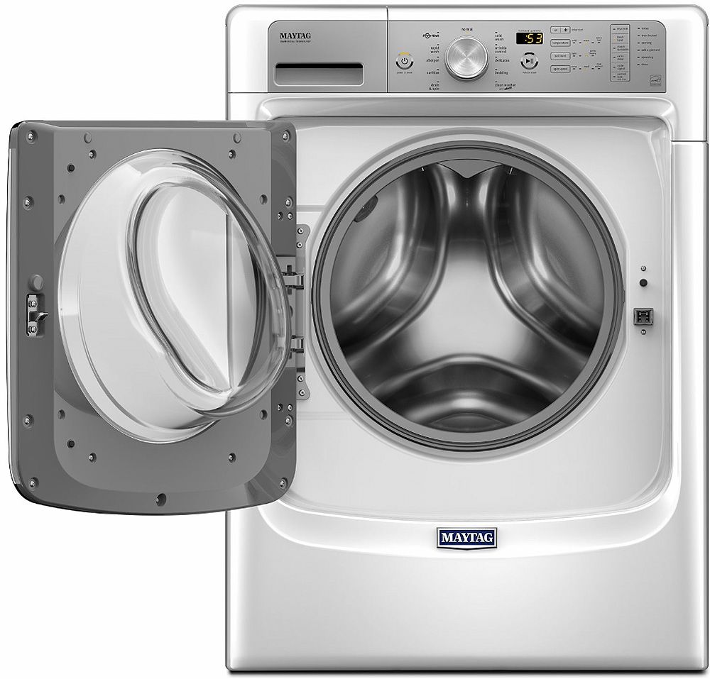 Maytag White Front Load Steam Washer - MHW5500FW