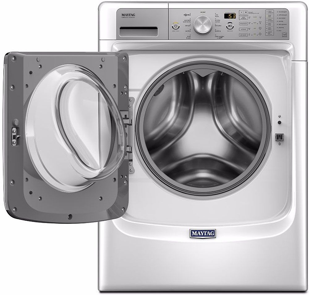 Maytag White Front Load Steam Washer Mhw8200fw
