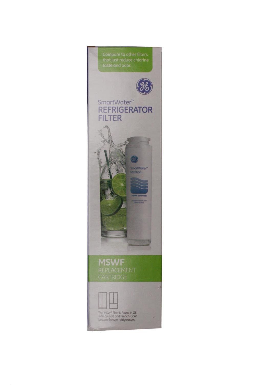 Ge Smartwater Refrigerator Filter Replacement Cartridge Ge Replacement Slim Water Filter Mswf Abt