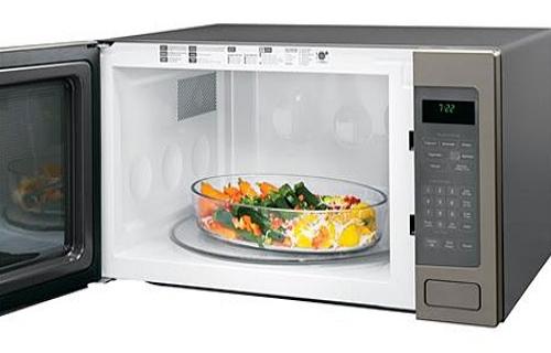 Ge Countertop Microwave In Slate : GE Profile Slate Countertop Microwave Oven - PEB7226EHES