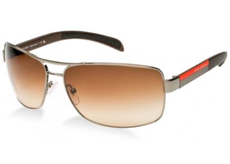 Prada Linea Rossa Rectangle Mens Sunglasses - PS 54IS