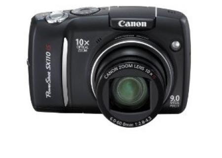Canon - SX110 IS - Digital Cameras