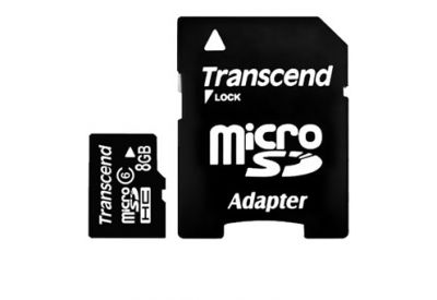 Transcend - TS8GUSDHC6 - Memory Cards