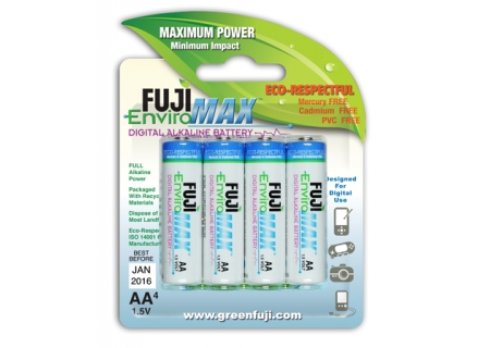 Fujifilm - UD-AA4 - Alkaline Batteries