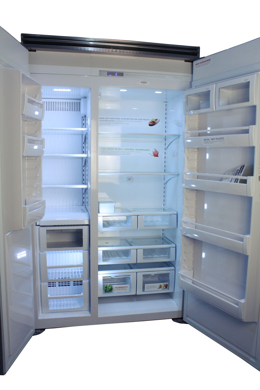 Viking 48 Quot Side By Side Refrigerator Vcsb5483bk