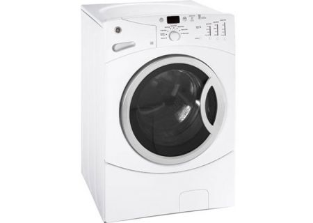 GE - WBVH5300KWW - Front Load Washing Machines