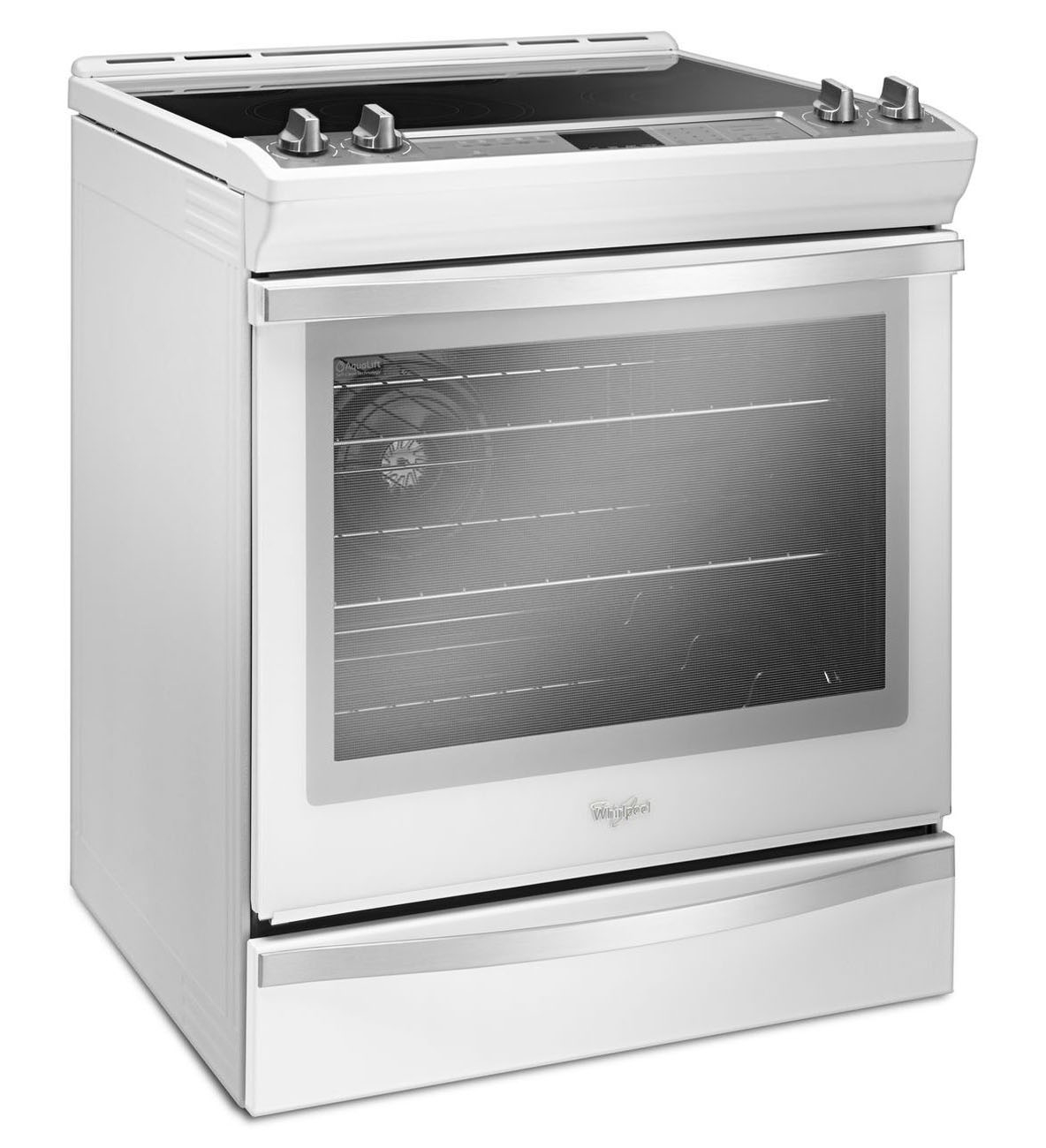 Whirlpool white ice electric range reviews - Main Image 1