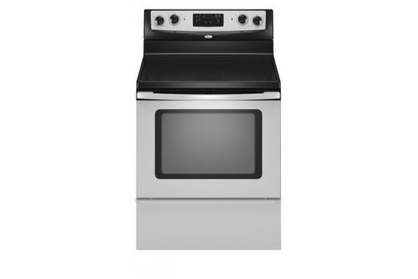 Large image of Whirlpool Stainless Steel Free-Standing Electric Range - WFE361LVS