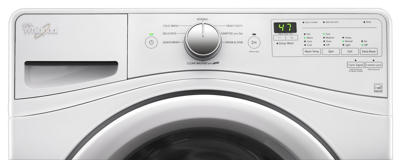 Whirlpool 4.5 Cu. Ft. Front Loading Washer - WFW75HEFW