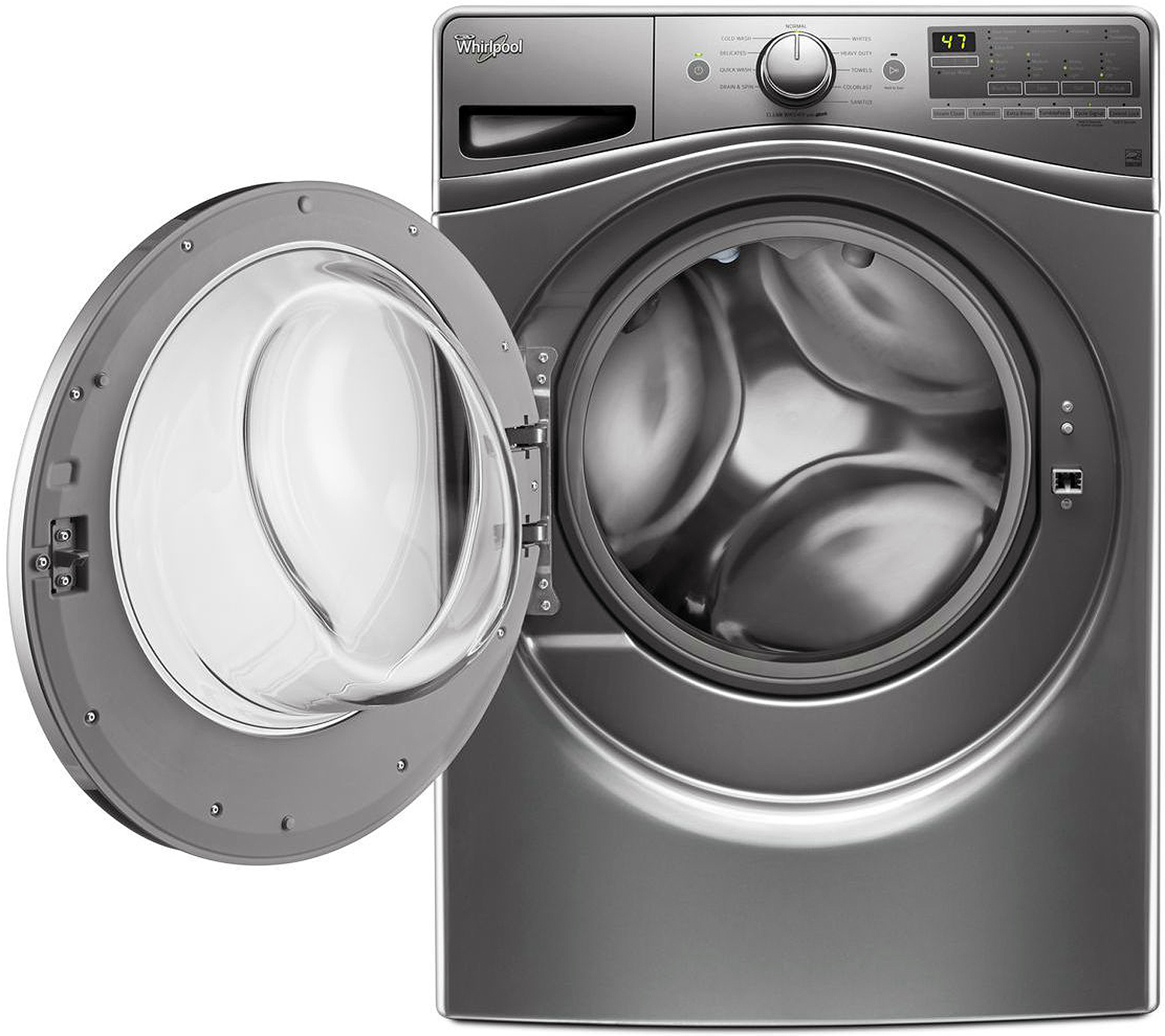 Whirlpool Chrome Shadow Front Load Washer Wfw85hefc