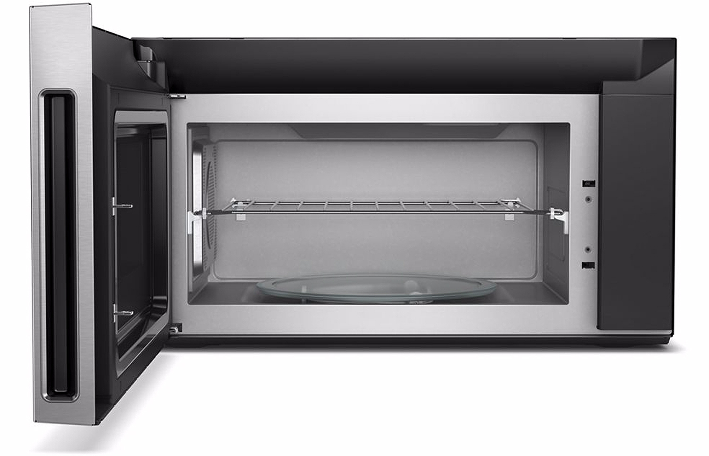 Whirlpool Fingerprint Resistant Stainless Steel Over The Range Microwave Hood Combination Wmh78019hz 1
