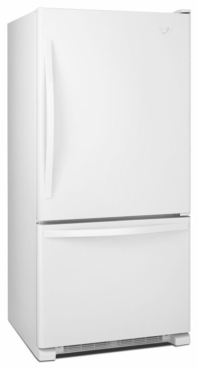 Whirlpool White Bottom-Freezer Refrigerator - WRB329DMBW