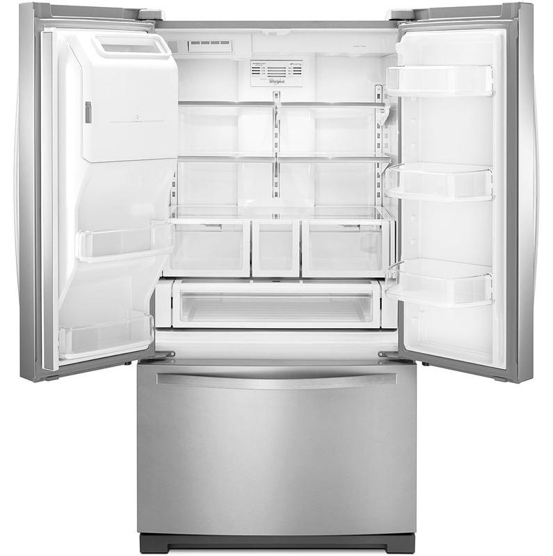 Whirlpool Stainless French Door Refrigerator Wrf757sdem