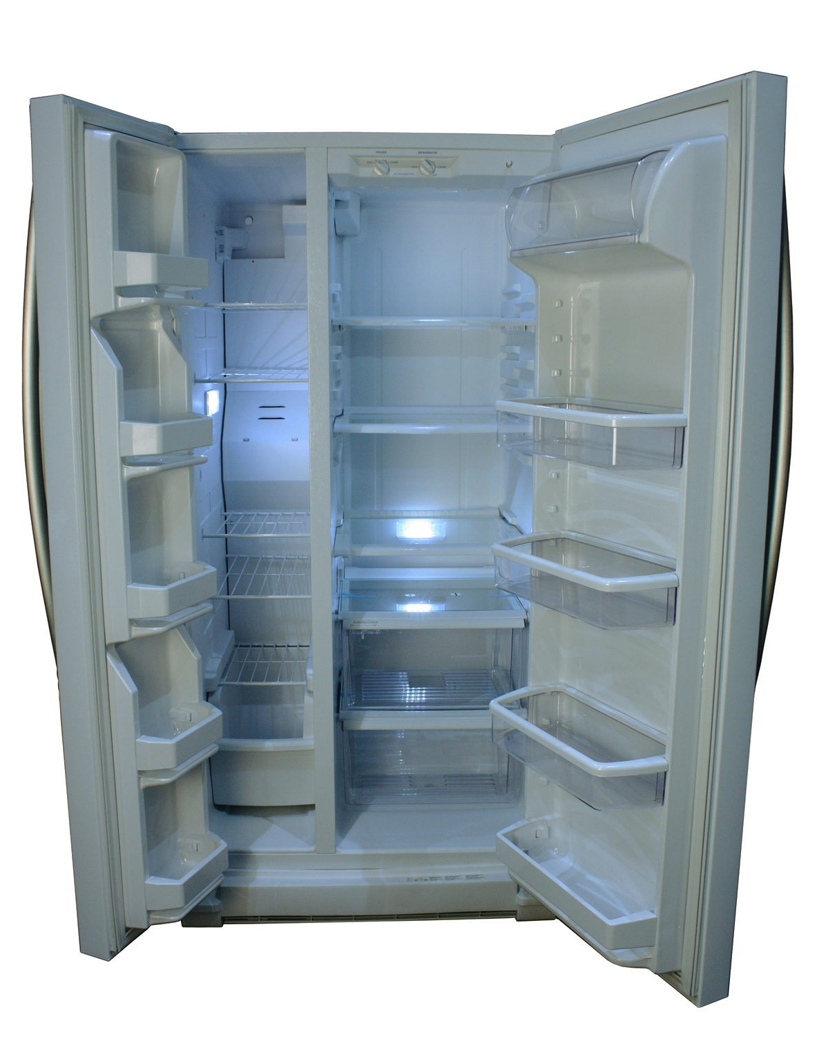 Side by side refrigerator 30 inch width -  Side By Side Refrigerators Main Image Interior