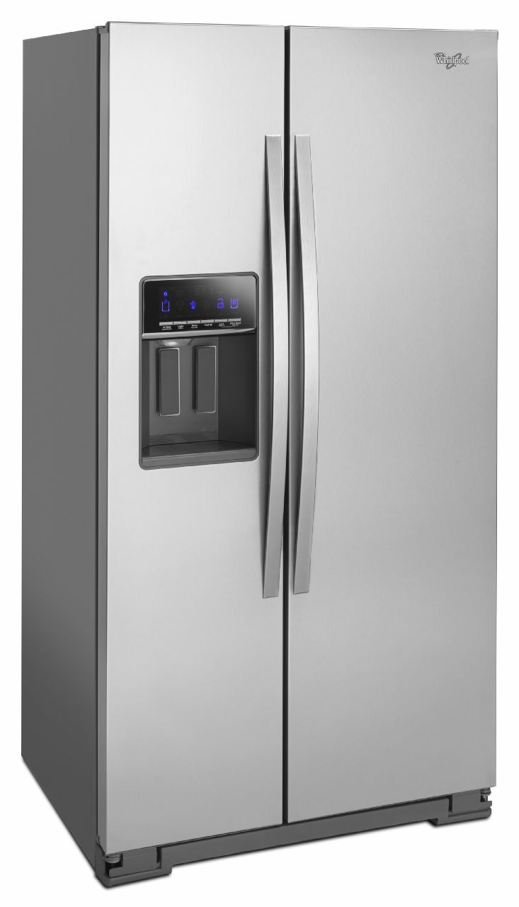 Whirlpool Stainless Side By Side Refrigerator Wrs586fiem