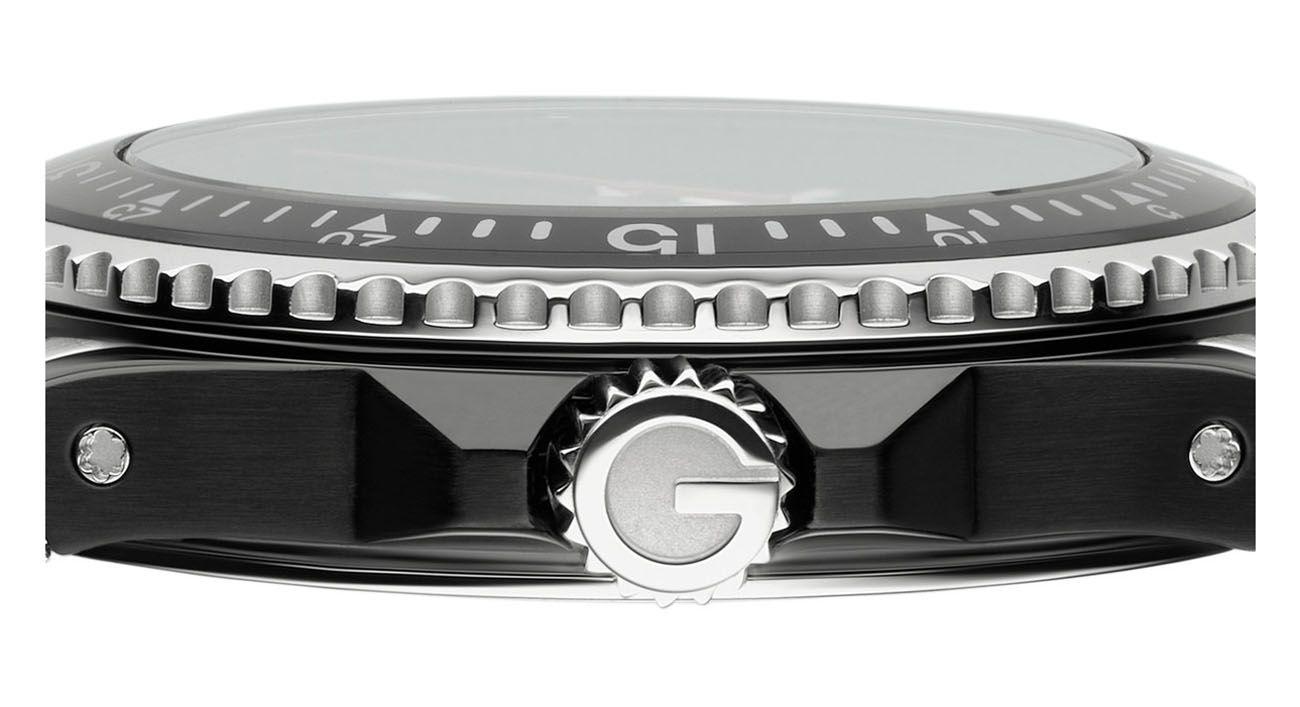 3113bf33397 Gucci Dive Black PVD Large Quartz Mens Watch - YA136303