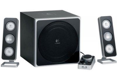 Logitech - Z-4 - Bluetooth & Portable Speakers