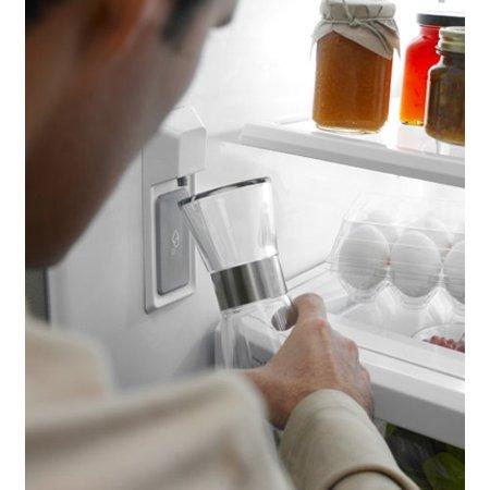 Kitchenaid White Bottom Freezer Refrigerator Kfcs22evwh
