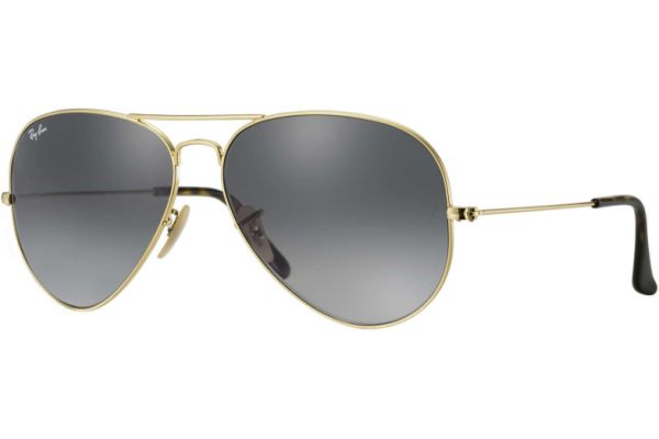 Large image of Ray-Ban Aviator Havana Gold Unisex Sunglasses - RB3025 181/71 58-14