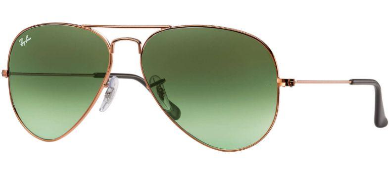 44f3f07d200 Ray-Ban Aviator Gradient Bronze Unisex Sunglasses - RB3025 9002A6 58-14