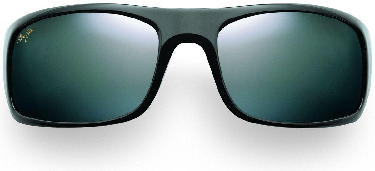 1c6b4db935d92 Maui Jim Peahi Black Rectangle Mens Sunglasses - 202-02