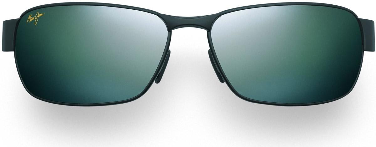 92c9d3c6b56 Maui Jim Black Coral Neutral Grey Rectangle Mens Sunglasses - 249-2M
