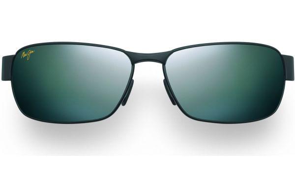 Large image of Maui Jim Black Coral Neutral Grey Rectangle Mens Sunglasses - 2492M