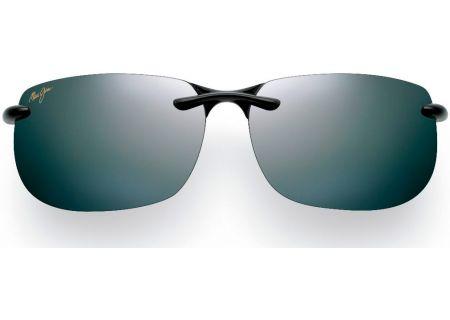Maui Jim Banyans Neutral Grey Rimless Mens Sunglasses - 412-02