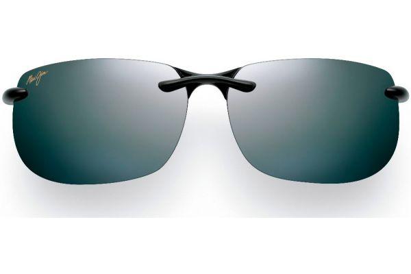 Large image of Maui Jim Banyans Neutral Grey Rimless Mens Sunglasses - 412-02
