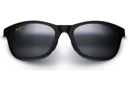 Maui Jim Hana Bay Matte Black Mens Sunglasses - 434-2M