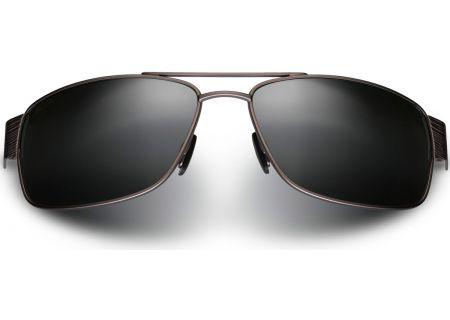 Maui Jim Ohia Satin Grey Mens Sunglasses - 703-14A