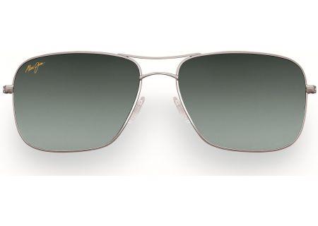 Maui Jim Wiki Wiki Silver Aviator Frame Unisex Sunglasses - GS246-17