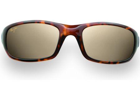 Maui Jim Stingray Tortoise Rectangle Unisex Sunglasses - H103-10