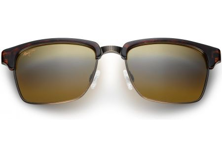Maui Jim Kawika Tortoise Clubmaster Mens Sunglasses - H257-16C