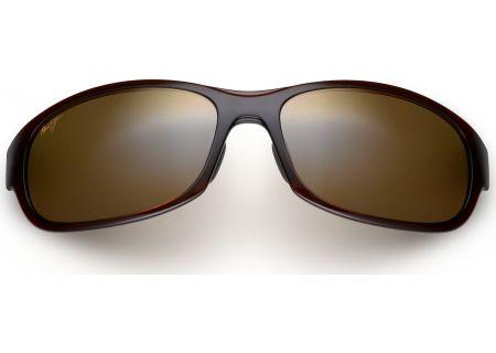 Maui Jim Twin Falls HCL Bronze Rectangle Mens Sunglasses - H41726B