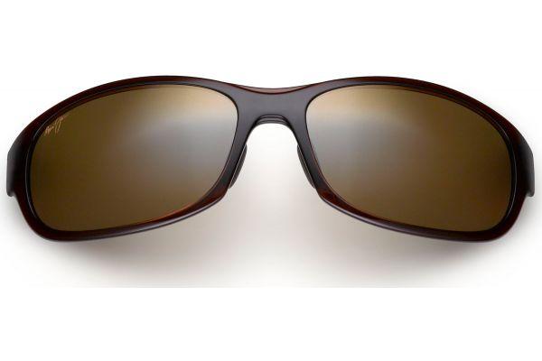 Large image of Maui Jim Twin Falls HCL Bronze Rectangle Mens Sunglasses - H41726B
