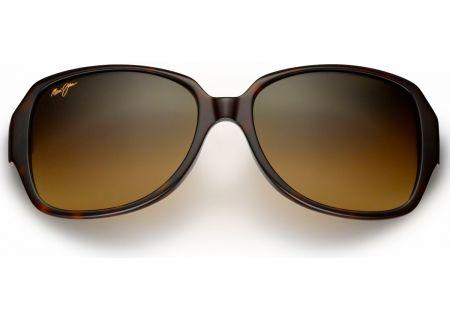 Maui Jim Kalena Tortoise Round Womens Sunglasses - HS299-10