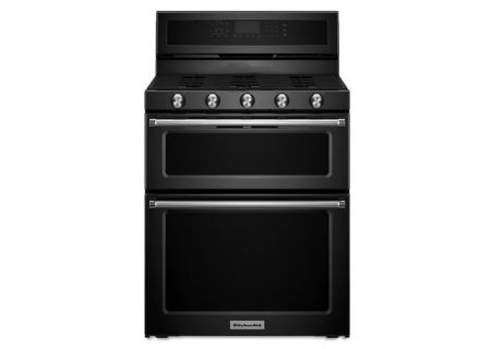 KitchenAid - KFGD500EBL - Gas Ranges