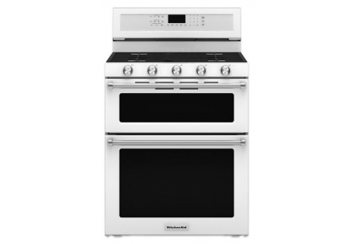 KitchenAid - KFGD500EWH - Gas Ranges