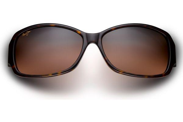 Large image of Maui Jim Nalani Dark Tortoise Rectangle Womens Sunglasses - RS29510