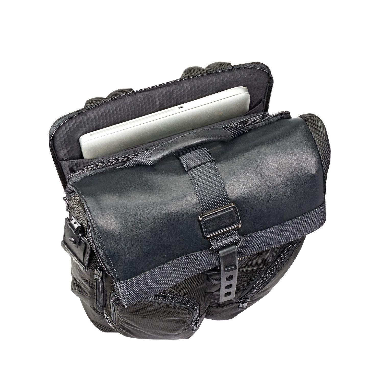 20c06256e4d6 Tumi Alpha Bravo Black London Roll Top Backpack - 103302-1041. Tumi  103302-1041 - 1. Tumi 103302-1041 - 2