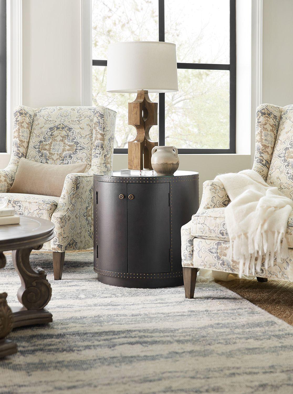 Furniture Living Room Woodlands Drum Table