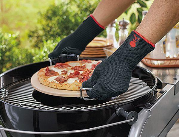 Weber Premium Size LXL Black Barbecue Glove Set 6535