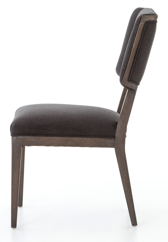 Four Hands Abbott Misty Black Jax Dining Chair - CABT-92