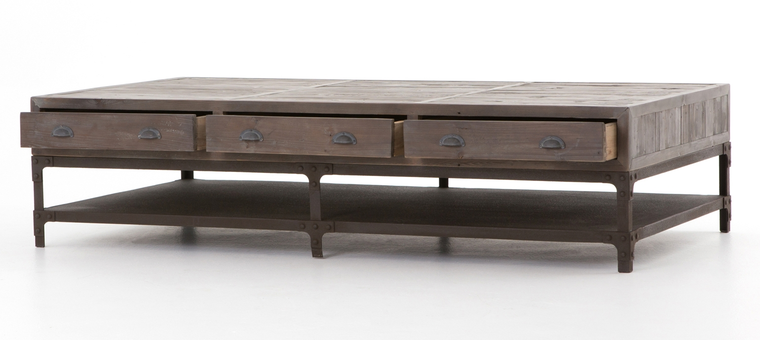 Four Hands Irondale Campbell Coffee Table Cird 11d2 C2