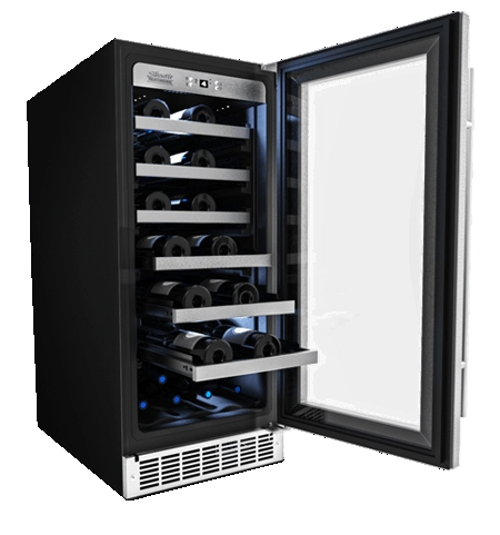 Danby Silhouette 15 Built In Wine Cellar Dwc031d1bsspr