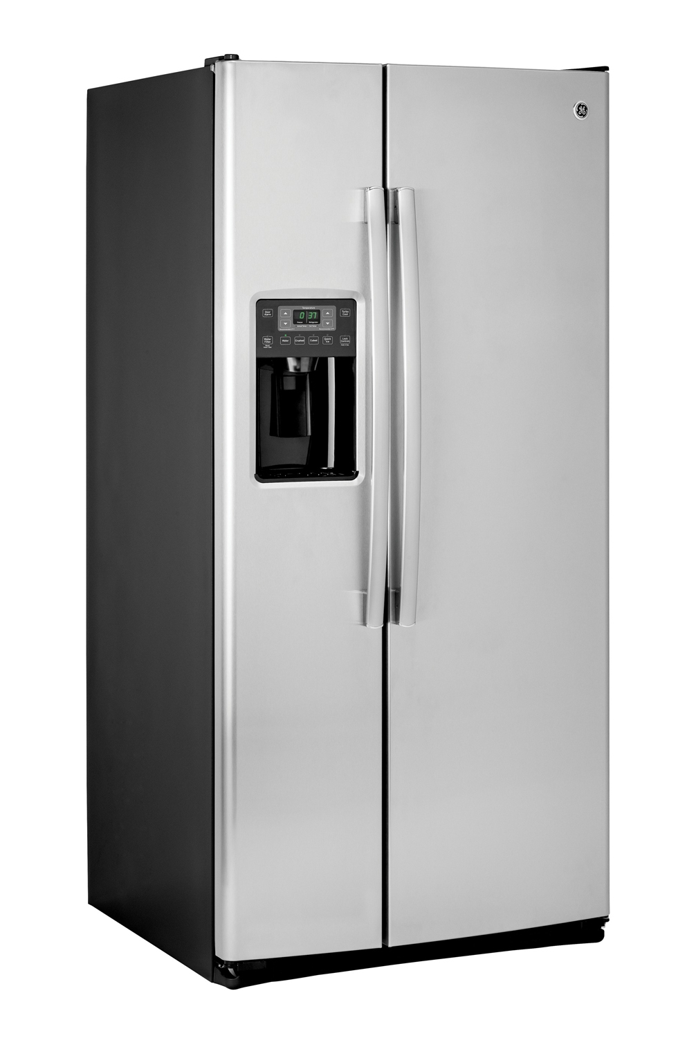 ge 23 2 cu ft side by side refrigerator gss23gskss. Black Bedroom Furniture Sets. Home Design Ideas