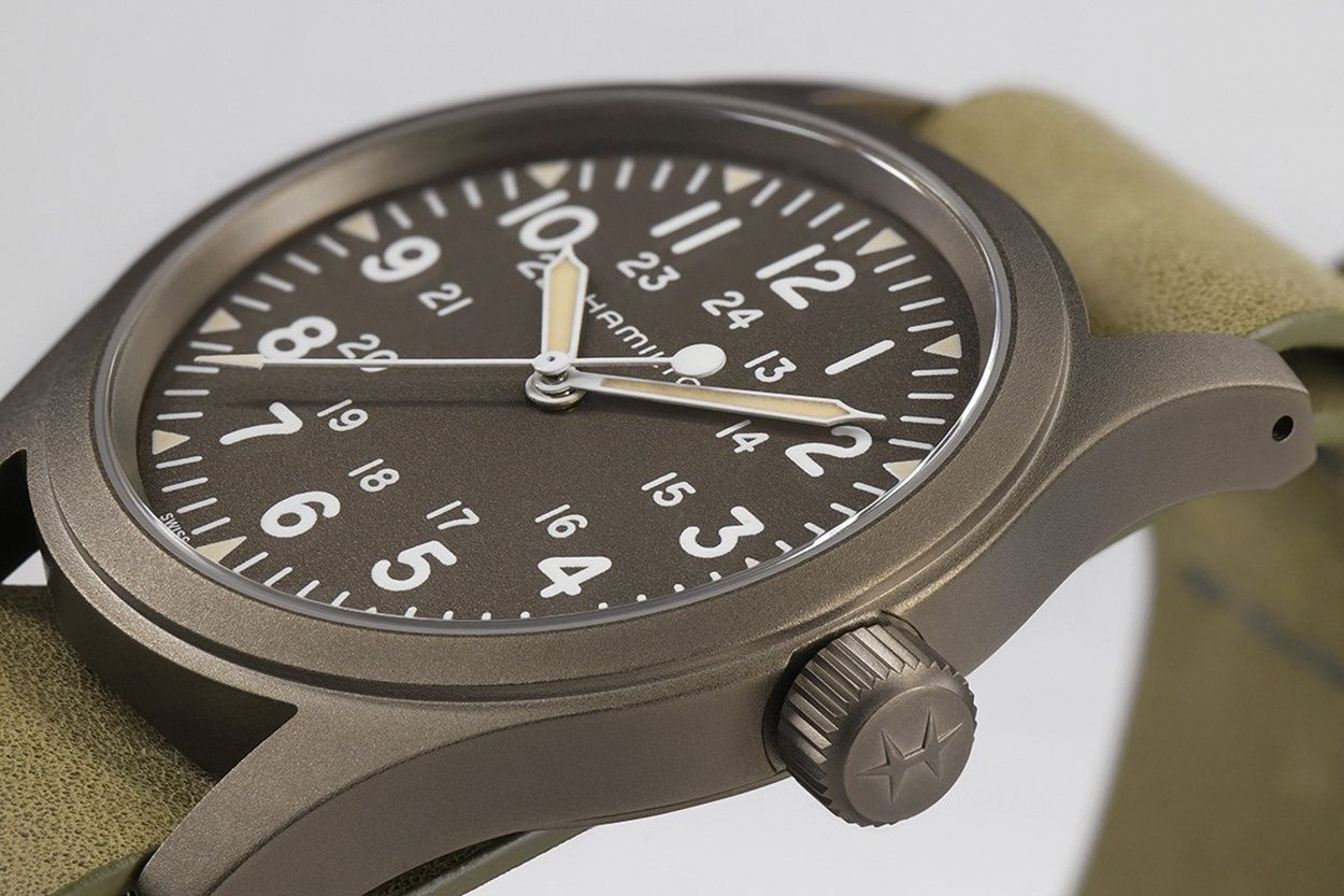 Hamilton Khaki Field Mechanical Mens Watch H69449861