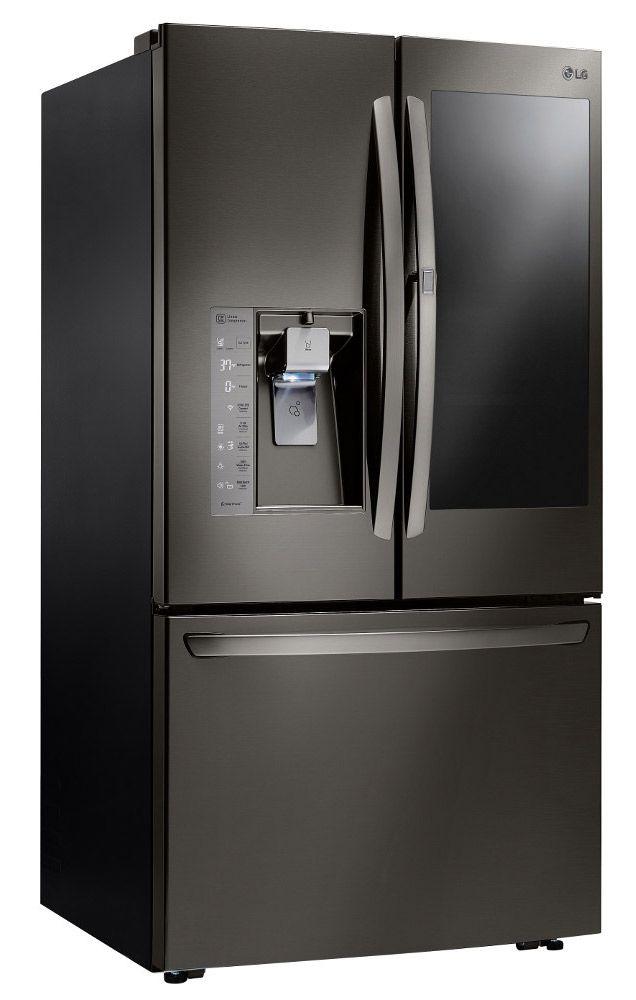 LG Black Stainless InstaView Refrigerator LFXS30796D